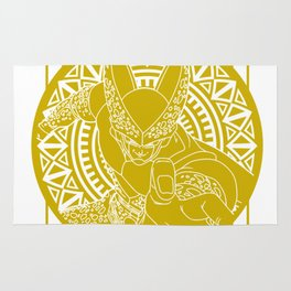 Stained Glass - Dragonball - Perfect Cell Rug