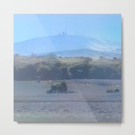 Arctic Mount Brocken Metal Print