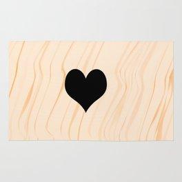 Scrabble Heart - Scrabble Love Rug