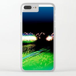 The Black Hole Clear iPhone Case