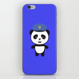 Panda Police Officer iPhone Skin
