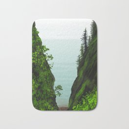 cape split Bath Mat