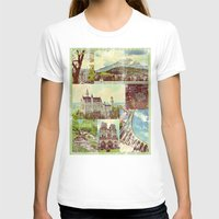 europe T-shirts featuring Vintage Europe by 4364