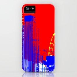 leaving london 12.47 iPhone Case