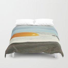 Beach Egg - Sunny side up Duvet Cover