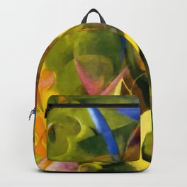 """Franz Marc """"Cheerful Forms"""" Backpack"""