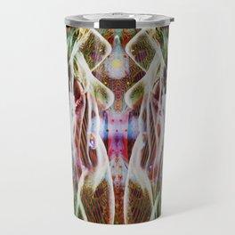Sagg-Unicorn  abstract art Travel Mug