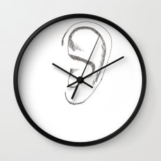 an earful Wall Clock