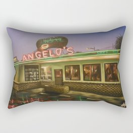Angelo's Drive In Rectangular Pillow