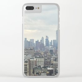 NYC Skyline #2 Clear iPhone Case