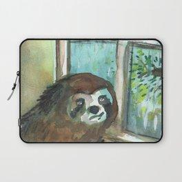 sloth rain Laptop Sleeve