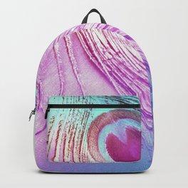 Pastel Peacock Backpack