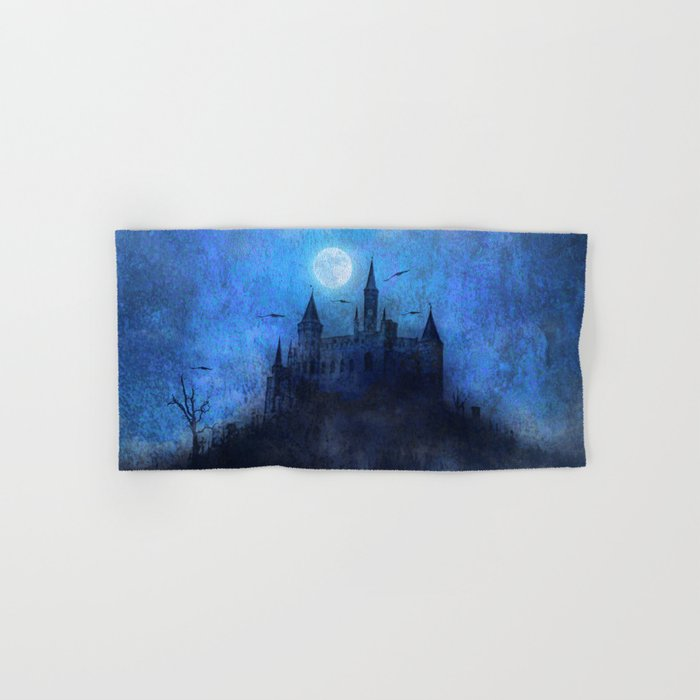 Mystical castle Hand & Bath Towel