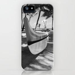 Kuau Hawaii Outrigger Canoe Paia Maui Hawaii iPhone Case