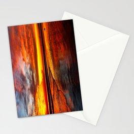 Huntington Beach Sunset 12/2/13 Stationery Cards