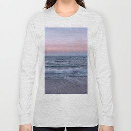 Pastel beach sunset Long Sleeve T-shirt