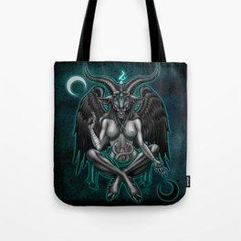 Baphomet (Teal) Tote Bag