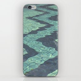 Pool zig zags iPhone Skin