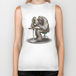 Coffee Break Biker Tank