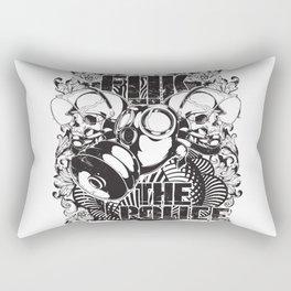 Fuk the police Rectangular Pillow