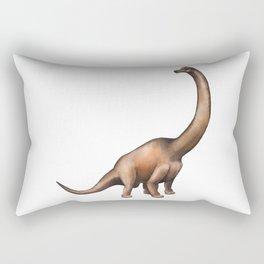 Realistic watercolor dinosaur Rectangular Pillow
