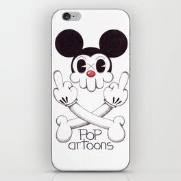 Skulltoons Nr.5 iPhone Skin