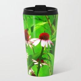 Coneflower Blooms Travel Mug