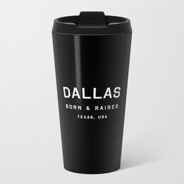 Dallas - TX, USA Metal Travel Mug
