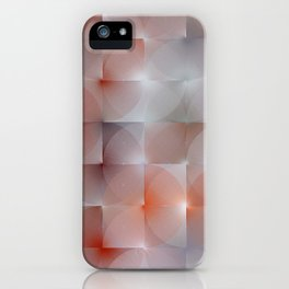 Chameleonic Written Circles - Colours from Suit Swag picture iPhone Case