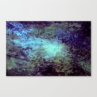cosmic Canvas Prints featuring Cosmic by Kimsey Price
