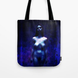 "NUDE ""Walk in blue"" Tote Bag"