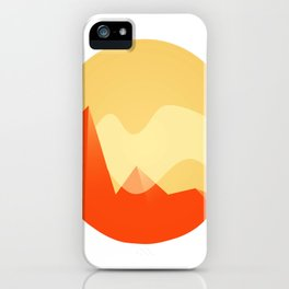 Simple Valley iPhone Case