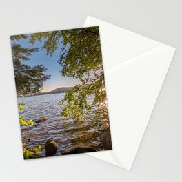 Secret Place By The Lake Stationery Cards