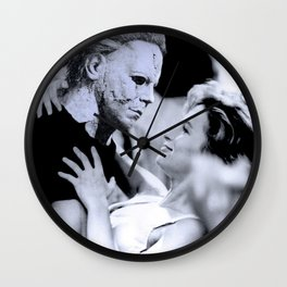 MICHAEL MYERS IN DIRTY DANCING Wall Clock