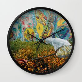 Seize your youth Wall Clock