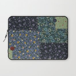 Faux Country Quilt Laptop Sleeve