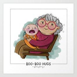 Boo-Boo Hugs Art Print