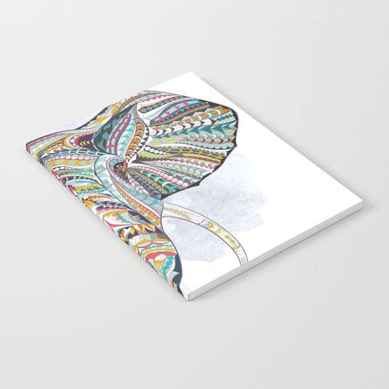 Colorful Ethnic Elephant Notebook