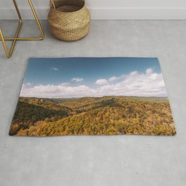 View of Red River Gorge, Kentucky Rug