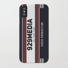 929 Media iPhone Case