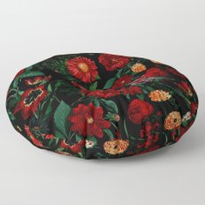 Botanical Garden Floor Pillow