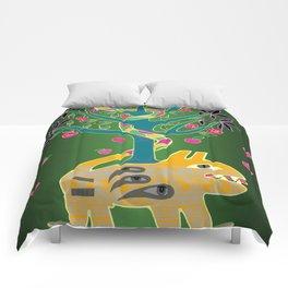 Apple of discord. Comforters
