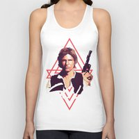 han solo Tank Tops featuring Han Solo by Cesar Carlevarino