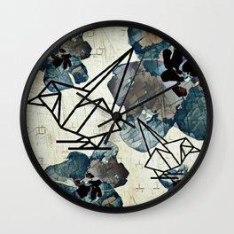 Chickadee-dee Wall Clock