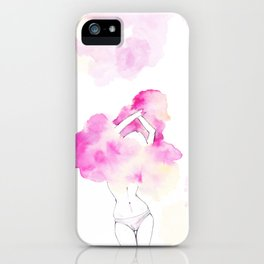 Undress your body iPhone Case