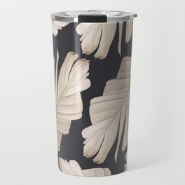 Sepia Banana Leaves Dream #1 #foliage #decor #art #society6 Travel Mug