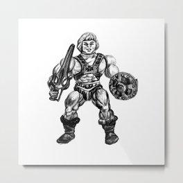 HE-MAN Metal Print