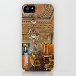 Newport Mansions, Rhode Island - The Breakers Music Room by Jeanpaul Ferro iPhone Case