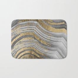 Abstract paint modern Bath Mat