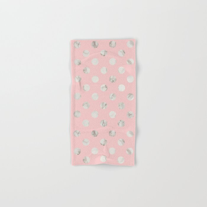 Marble Rose Hand & Bath Towel